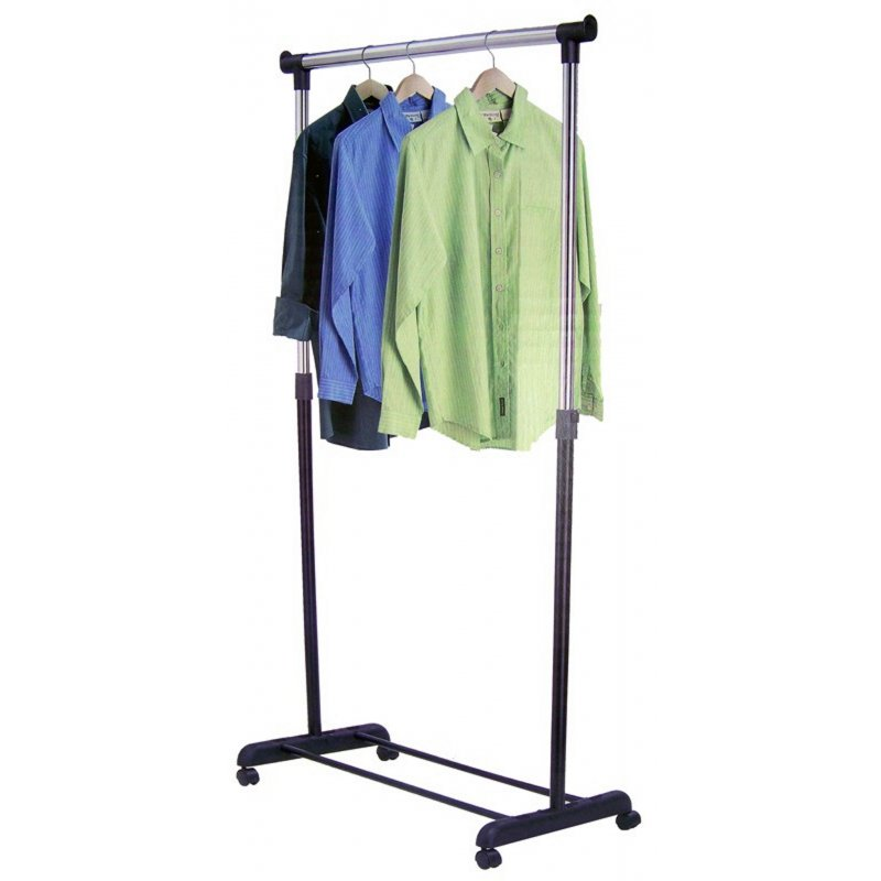 Mobiler Kleiderständer mobiler kleiderständer 81cm höhe 96 165cm 28 50