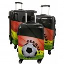 GERMANY - Fussball-Trolley-Koffer-Set - 3-tlg. - Trolleys...