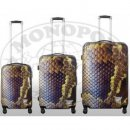 TOP-Design - Trolley-Koffer-Set, 3-tlg, 4 Rollen, Mod. Python