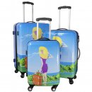 Trolley-Koffer-Set - 3-tlg. - Trolleys 74 + 64 + 54 cm