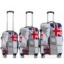 Trolley-Koffer-Set LONDON, 3-teilig, 4 Rollen