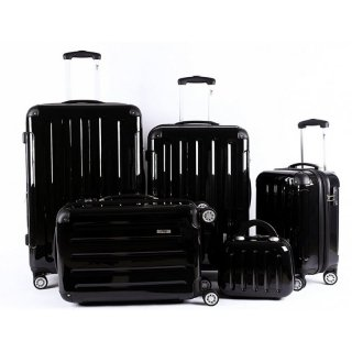 TOP-TIP Trolley-Koffer-Set 5-teilig, 4 Trolleys + Beauty-Case