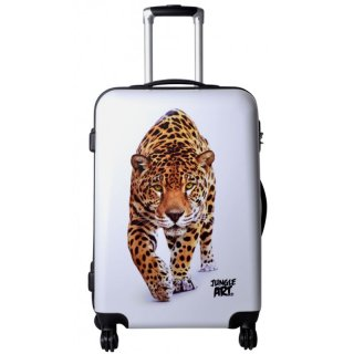 TOP-Design - Trolley-Koffer-Set, 3-tlg, 4 Rollen, Mod. Leopard